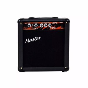 Amplificador Cubo De Guitarra Master Gui 1.10 30 Watts Chave Distortion