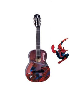 Violão Infantil Spider Man / Homem Aranha Marvel PHX Vims1