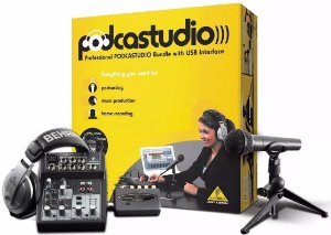 Kit Podcast Stúdio Home Stúdio Behringer Usb