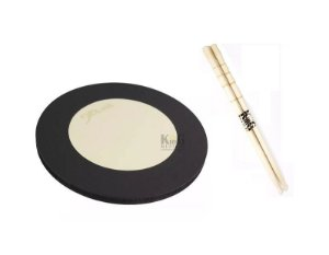 "Kit Pad Estudo Rudimentos Nevada Drums 10"" + Baqueta King"