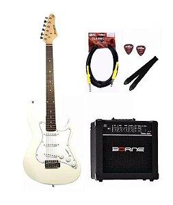 Kit Guitarra Strinberg EGS216 + Caixa G30 Cabo P10  Brindes