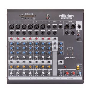 Mesa de Som Mixer 8 Canais Phantom Power MX802R LL Audio