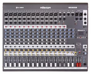 Mesa de Som 16 Canais MX1602MD Mixer Phantom Power LL Audio