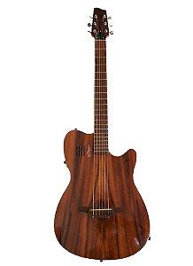 Violão Corrado Luthier Corpo Solido Aço Profissional CS-A
