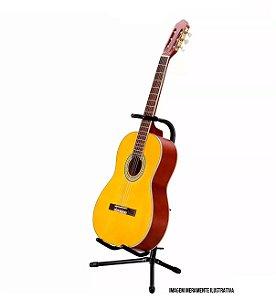 Suporte Violão, Guitarra E Baixo De Chão Com Apoio Braço
