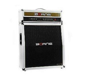 Amplificador  Borne Gladiator 2500 Cabeçote Caixa 300W