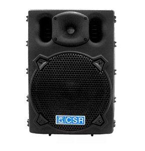 """Caixa Ativa Amplificada CSR 100W RMS Usb SD 2500A 10"""""""