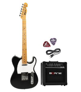 Kit Guitarra Telecaster Tagima TW55 Caixa G30 Cabo 2 Palheta
