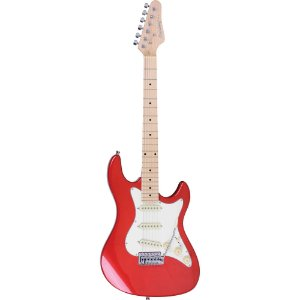 Guitarra Elétrica Stratocaster Strinberg STS100 MWR Vermelho