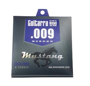 Encordoamento Corda de Guitarra Mustang 009/42 Nickel