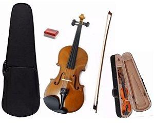 Violino Estudante 3/4 Dominante Com Case Estojo Arco Breu