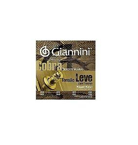 Encordoamento Bandolim Mandolin Cobra Tensão Leve Giannini
