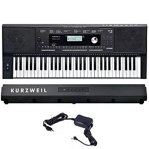 Teclado Arranjador Profissional 61 Teclas Digital Kurzweil