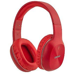 Fone de Ouvido Headfone Edifier W800 Bluetooth Vermelho