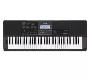 Teclado Arranjador Casio CTX-800 61 Teclas Sensitivas