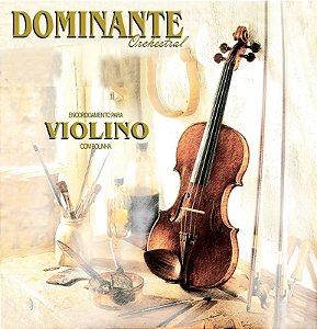 Encordoamento Dominante Para Violino Orchestral Com Bolinha