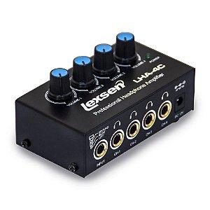 Amplificador de Fone de Ouvido Lexsen LHA4C