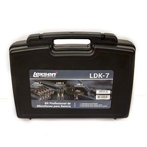 Kit de Microfones para Bateria Lexsen LDK-7