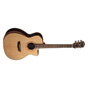 Violão Washburn WCG20SCE Grand Auditorium Cutway Natural