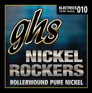 Encordoamento para Guitarra 6 Cordas GHS R+EJL  (0.10)