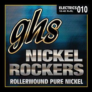Encordoamento para Guitarra 6 Cordas GHS R+RL (0.10)