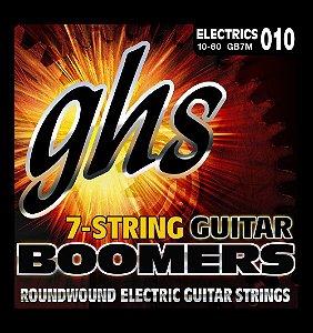 Encordoamento para Guitarra 7 Cordas GHS GB7M (0.10)