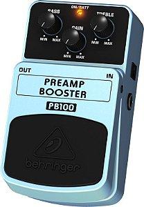 Pedal Para Guitarra Pream Booster Behringer PB100