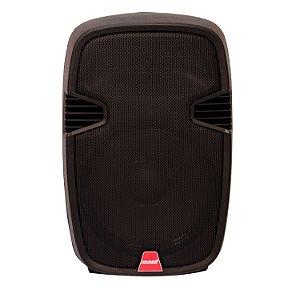 Caixa Acústica Ativa Lexsen LXP-10A 60W RMS Com Microfone