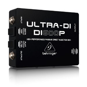 Direct Box Passivo Behringer Ultra-DI DI600P