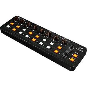 Controlador Behringer MIDI/USB X-TOUCH MINI 16 Botões 60mm