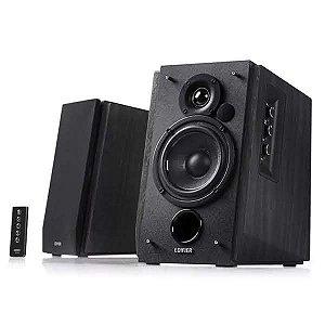 Monitor de Áudio Bluetooth Edifier R1700BT Estúdio Preto 66W