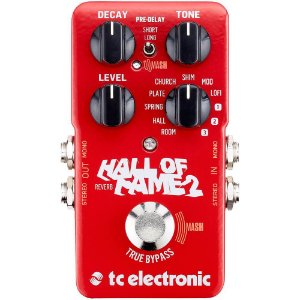 Pedal Tc Electronic Hall Of Fame Reverb 2
