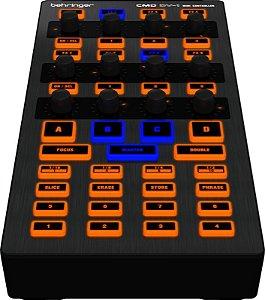 Mesa Controladora MIDI Para DJ Behringer CMD DV-1