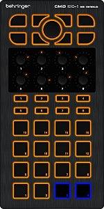 Controlador Para DJ Behringer MIDI CMD DC-1