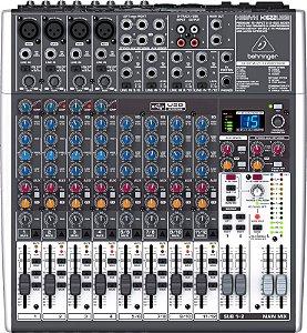 Mesa De Som Behringer  X1622USB Mixer Xenyx  16 Canais