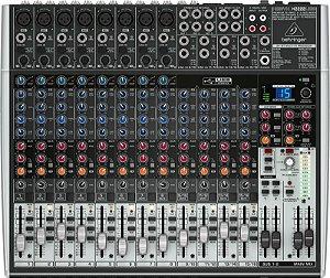 Mesa de Som Behringer X2222USB Mixer Xenyx Bivolt