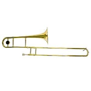 Trombone Alto Benson Em Si BTBA-1AL Laqueado Com Case