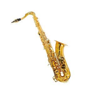 Saxofone Tenor Em BB Benson BSTC-1L Laqueado Com Case