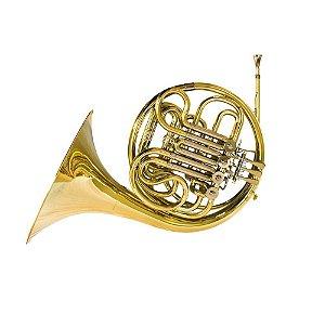 Trompa Benson Dupla Afinação F E BB BFH-1L Com Case