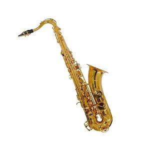 Saxofone Tenor BB Benson BSTC-1LN Laqueado Com Case