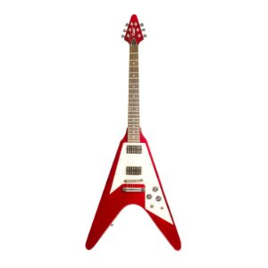Guitarra Benson Flying V  Wine Red V-ROD WR