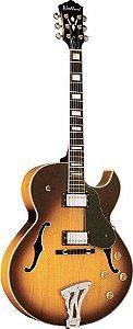 Guitarra Semi Acústica Washburn J3TSK  SunBurst