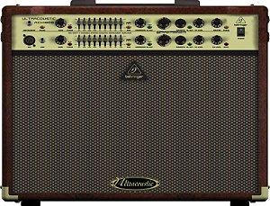 Amplificador Cubo Para Violão e Voz Behringer ACX1800 Marrom