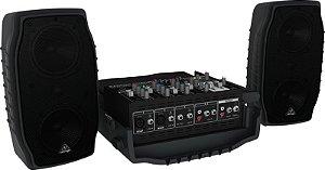 Caixa Acústica Behringer PPA200 BiVolt 200W