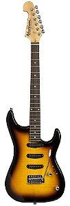 Guitarra Washburn S3XTS Flame Tobacco Sunburst Captação HSS
