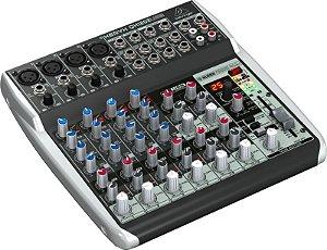 Mesa de Som Mixer Behringer QX1202USB Xenyx 110V