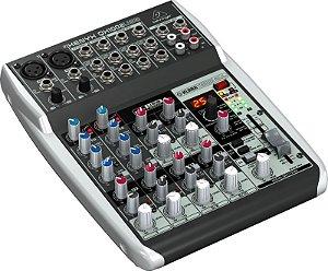 Mesa de Som Mixer Behringer Xenyx QX1002USB 110V