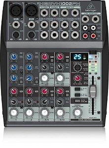 Mesa de Som Mixer Behringer Xenyx 1002FX 110V