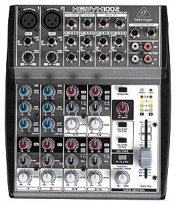 Mesa de Som Mixer 10 Canais Behringer Xenyx 1002 110V