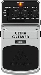 Pedal de Efeitos Para Guitarra Behringer UO300 Ultra Octaver